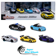 Majorette 1:64 Porsche 911 Edition Gift pack 5 Cars Assortment