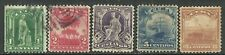 U.S. Possessions stamps scott 227 - 231 issues of 1899 - used set #19