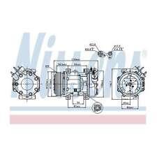 Fits Peugeot 306 1.8 D Genuine OE Quality Nissens A/C Air Con Compressor
