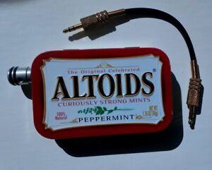 JDS Labs US Built CMoy 1 Watt Portable Headphone Amplifier + RCA lead - 9v PP3