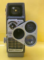 Antique Rare Old Vintage Movie Display Film Camera 8mm  Bell And Howell C. 1958