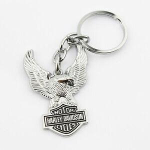 Harley Davidson HD Bar & Shield Eagle Adler Key Chain Schlüsselanhänger Anhänger
