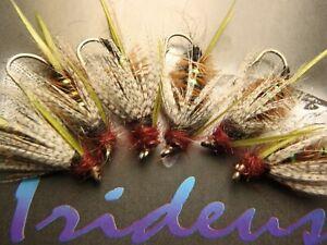 Irideus Prince Nymph Attractor Nymph Custom trout Steelhead Fly Fishing Flies