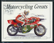 MOTORCYCLING GREATS - Collectors Cards - Agostini Hailwood Sheene Fogarty Dunlop