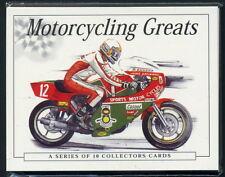 Motorradfahren Größen - Sammler-Karten - Agostini Hailwood Sheene Fogarty Dunlop