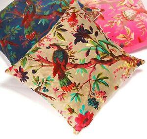 Frida Floral Velvet Cushion Cover Mexico Muertes Decorative Pillow case 45*45CM
