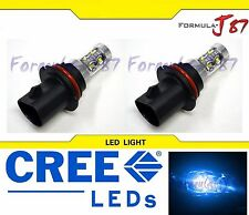 CREE LED 50W 9007 HB5 BLUE 10000K TWO BULB HEAD LIGHT JDM SHOW LAMP REPLACEMENT
