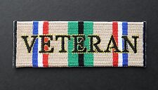 OPERATION DESERT STORM VETERAN GULF WAR EMBROIDERED PATCH 4 x 1.5 INCHES