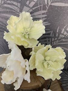 Open Peony Sugar Flower Cake Topper/Decoration