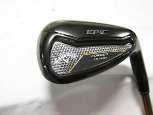 Used RH Women's Callaway Epic Star Forged Single A Wedge - Ladies Flex Graphite