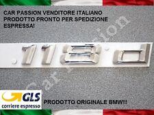 SCRITTA STEMMA BMW SERIE 1 118d POSTERIORE LOGO SIGLA ORIGINALE REAR TRUNK SIGN