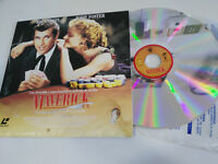 MAVERICK MEL GIBSON JODIE FOSTER Widescreen Laserdisc LD WARNER ESPAÑOL