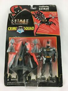 Batman the animated series Stealthwing Batman Crime Squad 1995 Kenner
