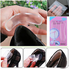 1 Paar Silikon Gel Ferse Kissen Beschützer Fuß Füße Pflege Schuh Pad Einlage FS