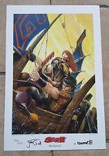 Storm tipo di stampa-Print lim.250 ex SIGNED romano Molenaar Jorg de vos Don Lawrence