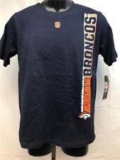 New Denver Broncos Youth Size L Large (14/16) Blue NFL Team Apparel Shirt