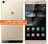 "HUAWEI P8 MAX 3gb 64gb Octa-Core 13mp Flash Hdr Dual Sim 6.8"" Android Smartphone"