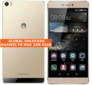 """HUAWEI P8 MAX 3gb 64gb Octa-Core 13mp Flash HDR Dual Sim 6.8"""" Android Smartphone"""