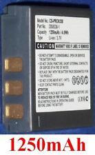 Batería 1250mAh tipo BATS8 BLI-315 DS8330-1 Para Medion Traveler DC-XZ6