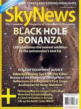 Sky News November/December 2016 Canadian Magazine of Astronomy & Stargazing