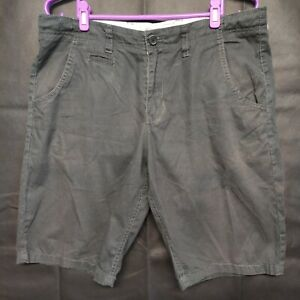 Abercrombie & Fitch Men's Grey Chino Shorts Size 34