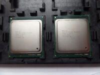 Pair (2pcs) of Intel E5-2620 SR0KW, LGA 2011, 2 Ghz, 6 Core, 15MB