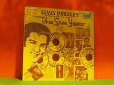 ELVIS PRESLEY - THE SUN YEARS - SUN 1977 IN SHRINK VINYL LP RECORD