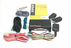 Viper 4105V Remote Car Starter 1-Way TWO 4-Button Remotes Keyless BRAND NEW!!