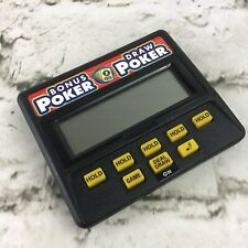 New ListingVintage 80's Radica Bonus Poker & Draw Poker Electronic Handheld Game #1317 Mint