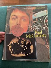 Music Book: The New Songs of Paul McCartney -  112 pages - w/Photos