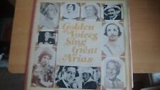 Golden Voices Sing Great Arias READERS DIGEST MONO LP RCA RDM 2678