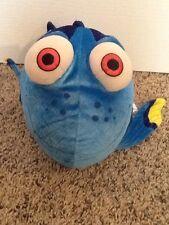 "Large Huge Disney Store Pixar Finding Nemo Movie Blue Dory Fish Plush 16"" Nice!"