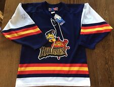 Peoria Rivermen Jersey Tags Randy Rowe Signed #18 Autographed Men's Sz S