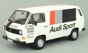 PREMIUM CLASSIXXS 30021 30023 VW T3a VAN 1980 models Audi Sport / Audi Team 1:18