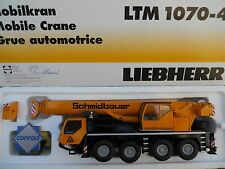 "CONRAD 2100 LIEBHERR LTM 1070-4.1 "" SCHMIDBAUER ""  RARE  MINT IN BOX"