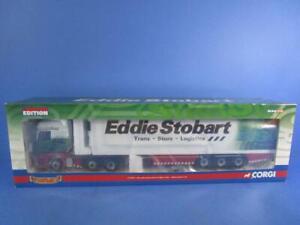 CORGI CC13801 MERCEDES-BENZ ACTROS FRIDGE TRAILER EDDIE STOBART LTD, 1/50, MIB!
