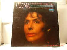 "LENA HORNE-(LP)-LENA SINGS YOUR REQUESTS - INCLUDES ""STORMY WEATHER""-MONO- -1963"