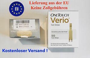 Onetouch Verio Teststreifen  1x50 Stück - MHD 06-2022