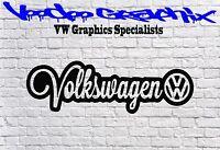 VW Graphic Vinyl Decal window bumper Sticker VDUB VOLKSWAGEN T5 T4 T6 VW