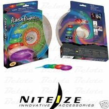 Nite Ize Flashflight Jr LED Lit Flying Disc Frisbee FFJ-08-07