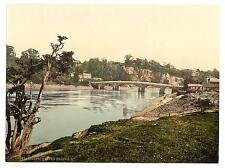 The Bridge Ii Chepstow A4 Photo Print