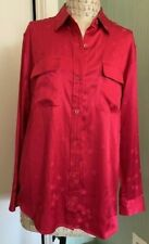 Equipment x Tabitha Simmons Star Print Red Blouse Size M, NWT, Orig $325
