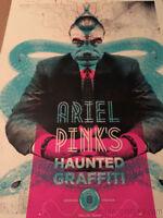 Ariel Pink's  - Delicious Design poster print Chicago IL Haunted Graffiti Dallas