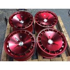 16X9 +17 Klutch KM16 5x114.3 Fusion Red Wheel Fit MAZDA 3 6 RX7 ACCORD CIVIC SI