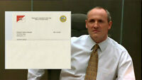 House of Cards Brockhart Colm Feore Production Used Resignation Letter May (A)