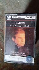 """Emil Gilels,""""Brahms:Piano Concerto No.2""""  Rare cassette"""