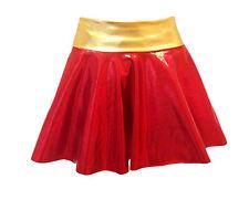 Sexy IRON MAN/WOMAN SUPERGIRL Style SKIRT superhero FANCY DRESS HEN DO COSTUME