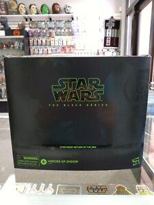 "Star Wars Black Series 6"" PulseCon Exclusive Heroes of Endor Sealed Rare!!!"