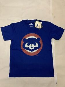 New Youth Original Fanatics MLB Chicago Cubs T-shirt Sz YL