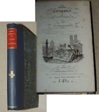 Voyage à Londres et dans ses environs / Par ALBERT-MONTEMONT  1834  E.O